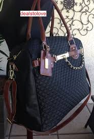26 best Bags images on Pinterest | Bags, Tote bag and Briefcase & NWT Steve Madden x-lrg Rare Overnight Travel Weekender Black Quilted  neptune bag #SteveMadden Adamdwight.com
