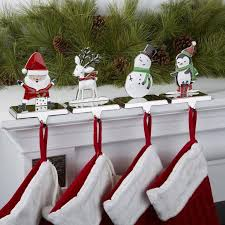 Christmas Stocking Holders For Mantle | Pictures Reference within Christmas  Stocking Holders For Fireplace