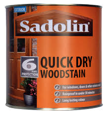 Sadolin Quick Dry Woodstain 1 Litre Stains Varnish