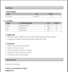 36 Perfect Simple Resume Format Word Doc For Every Job Search