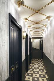 hallway chandelier large size of long lights led ceiling modern living crystal