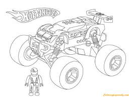 Interactive color wheel generator & chart online. Monster Truck Hot Wheels 2 Coloring Pages Transport Coloring Pages Free Printable Coloring Pages Online