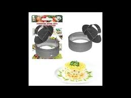 Кулинарная форма <b>Круг</b> - 10х4,5 см с <b>прессом</b> купить - цена 230 ...