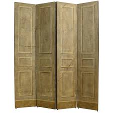 Folding Screen Trompe Loeil Neoclassical Folding Screen By Jacques Lamy For Sale