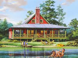 estate house plans. Plain House About Waterfront House Plans U0026 Home Floor Plans Throughout Estate P