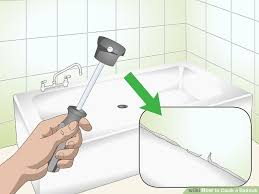 image titled caulk a bathtub step 1