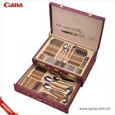 single cutlery set. Modren Single EcoFriendly 72pcs Single Gold Cutlery Flatware Set To Single Cutlery Set Z