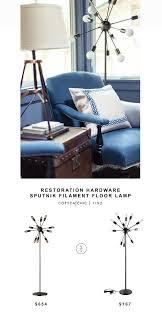restoration hardware sputnik filament floor lamp