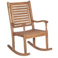 wooden rocking chairs for sale. Walker Edison Furniture Co. Solid Acacia Wood Rocking Patio Chair Brown Wooden Chairs For Sale