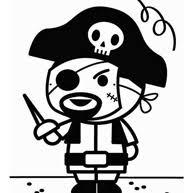 Piratenvlag Kleurplaat Voor Kids