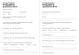 Questionnaire About Packaging Design Amyturnerdesign Page 11