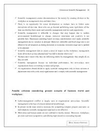 criticism on scientific management literature review based article 11