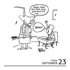 Teacher Cartoon A Day 2016 Calendar A Daily Lesson In Humor