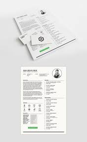Free Minimalist Indesign Indd Format Resume Template Creativebooster