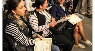 Молодежь Грузии получила дипломы об окончании курсов русского языка
