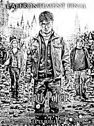 Movie Harry Potter 7 2 Affiche Movies Adult Coloring Pages