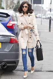 running errands lucy mecklenburgh 24 was spotted looking casually cool as she spotted