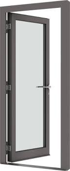 Ou até 12x de r$ 201,74 sem juros · porta pivotante de alumínio branco 210 x 100 linha 25 com fr. Puerta De Entrada 500 Velfac De Madera De Aluminio Abatible