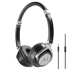 motorola pulse max headphones. motorola pulse 2 ultra lightweight on-ear wired headphones with in-line microphone - max