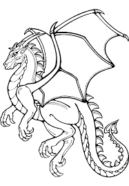 Free Printable Baby Dragon Coloring Pages Baby Dragon Coloring Pages