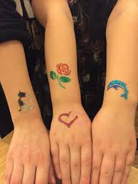 Třpytivé Tetování Dětské Programy