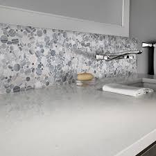featured alaska gray pebble polished marble tile