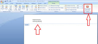 Ms Word Header How To Insert Or Remove Header And Footer In Ms Word Whatvwant