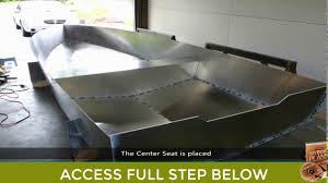 Aluminium Boat Designs Plans Free Building An Aluminum Boat From Scratch Plans To Build A Boat