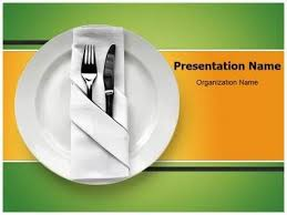 Table Setting Templates Table Setting Powerpoint Template Is One Of The Best