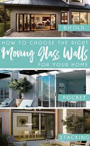 design trend alert moving glass wall systems learn how to choose the right type