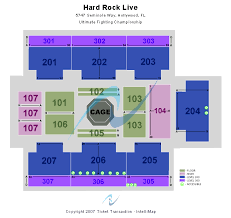 Hard Rock Live Miami Seating Chart Hard Rock Live At The Seminole Hard Rock Hotel Casino