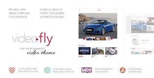 Video Website Template Enchanting Videofly Video Sharing Portal Theme By Upcode ThemeForest