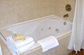 cleaning a jacuzzi tub or one user filled the with hot water and 2 cups of cleaning a jacuzzi tub