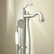 bathtub faucet with sprayer bathtub faucet pull out sprayer home designs front tub freestanding with hand