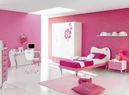 bedroom fetching ideas in pink theme teenage girl room design