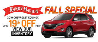 fall special 2019 chevrolet equinox