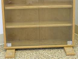 Maple Storage Cabinet Dvd Bookcase With Glass Doors In Oak Or Maple By Decibel Designs