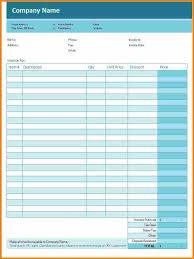 furniture shop bill format simple invoice template