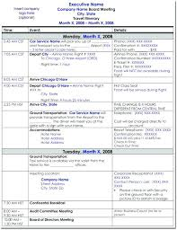 Free Travel Itinerary Template Excel Planner – Fitguide