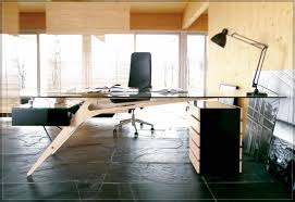 office desk table tops. Lovely L Shaped Home Office Desk 4112 Furniture Brown Lacquered Wooden Fice Which Pleted Table Tops