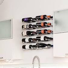 Wall mounted wine bottle rack Wall Hanging Vino Pin Series Bottle Wall Mounted Wine Rack Allmodern Vino Pin Series Bottle Wall Mounted Wine Rack Reviews Allmodern