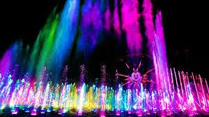 Disney World Water Light Show World Of Color Disneyland Resort
