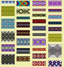 Bead Loom Bracelet Patterns Delectable Loom Pattern I Am Going To Try Using The Herringbone Stitch To Get