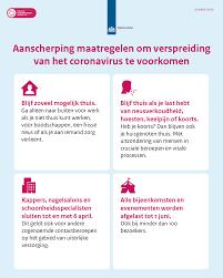 Aangescherpte maatregelen om het coronavirus onder controle te krijgen |  Nieuwsbericht