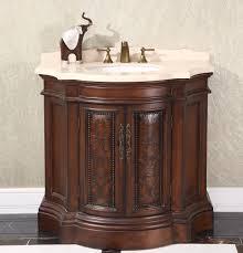 Legion Bathroom Vanity Legion 38 Inch Vintage Bathroom Vanity Wb 1838l In Cherry Brown Finish