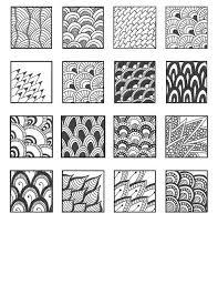 Cool Zentangle Patterns