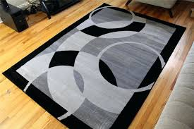 black and white rugs 8x10 silver black and white striped area rug 8x10