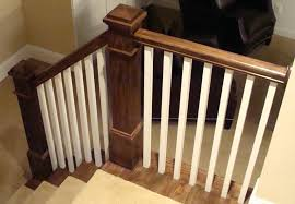 stair spindles home depot terrific wood stair baers stair spindles home depot dark brown and white