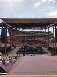 Red Rocks Amp Seating Chart Photos At Red Rocks Amphitheatre
