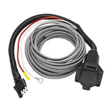 cheap 7 pin flat wiring diagram 7 pin flat wiring diagram get quotations · hidden hitch pre wired adapter 7 way flat pin connector brake control